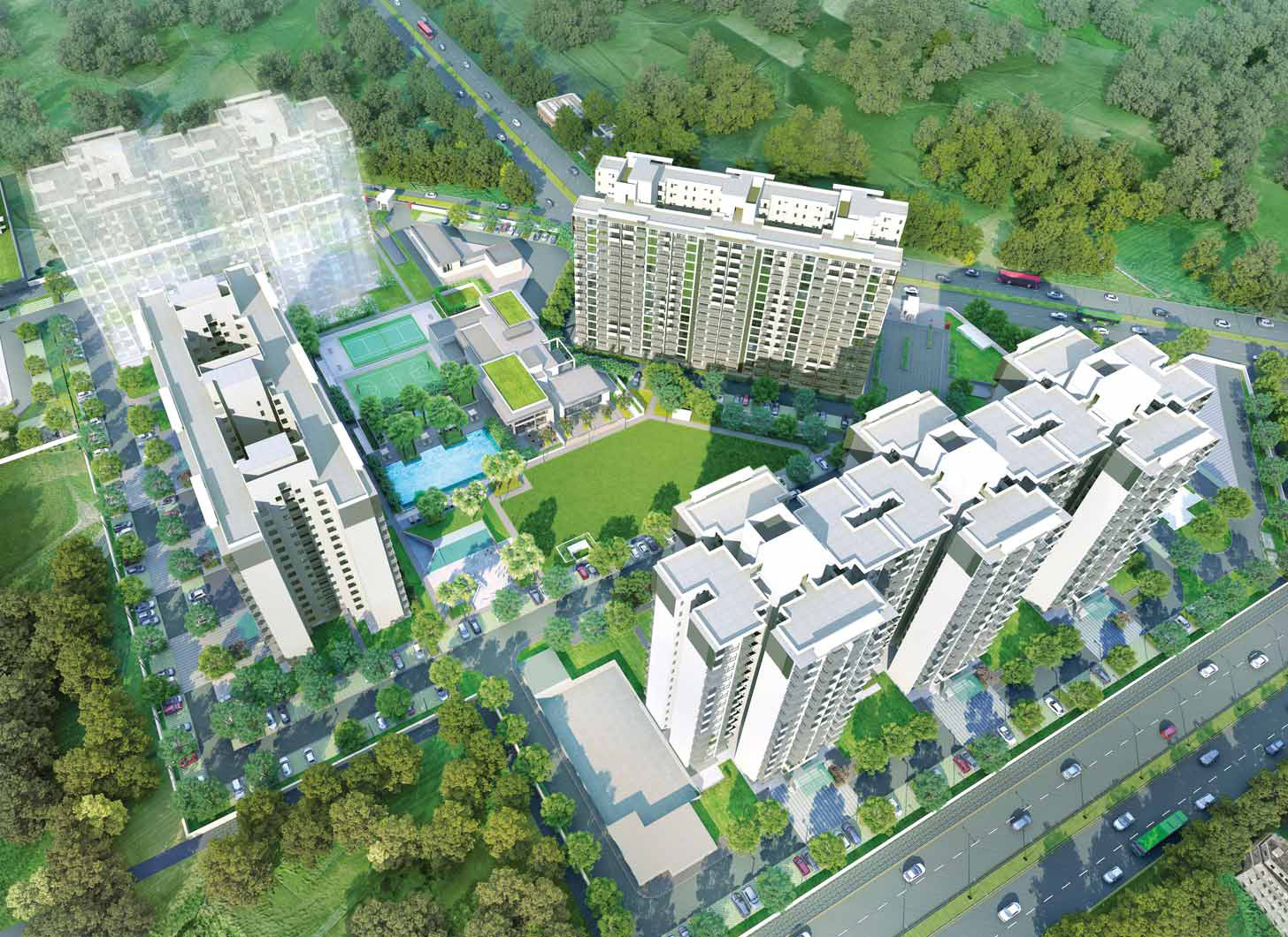IREO Nuspark South of Gurgaon